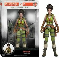"6/"" Action Figure: Evolve Maggie Funko Legacy Collection 2K Gun accessory"