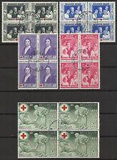 Briefmarken aus Belgien mit Rotes Kreuz-Motiv