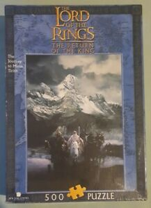 Lord of the Rings The Return Of The King 500pc Puzzle Blue Opal 2001 - Complete