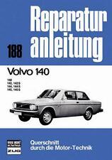 Volvo 140 (140 142 S 144 S 145 S) 1966-74 Reparaturanleitung Buch book Handbuch