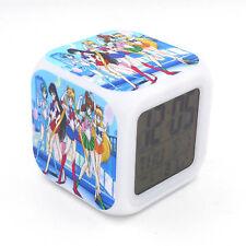 Led Alarm Clock Sailor Moon Creative Digital Table Alarm Clock for Kid Toy Gift