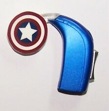 Children's Adult's Hearing Aid accessories tube charms .....STAR SHIELD