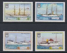 TUVALU 1987 Missionary Steamers MINT SET sg442-445 MNH