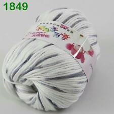 Sale New 1 ball x50gr Cashmere Silk Velvet Baby Children Hand Knitting Yarn 49