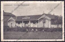 NOVARA CARPIGNANO SESIA 38 TIRO A SEGNO Cartolina VIAGGIATA 1921 Edizione DOLCI