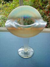 Fine Stourbridge opalescent glass Jack in the pulpit vase. Mouth blown