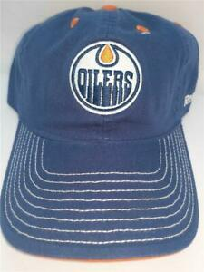 New Edmonton Oilers Mens Size OSFA Adjustable Hat