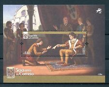 Portugal 2016 MNH Postal Service 500 Years 1v M/S Art Paintings Stamps