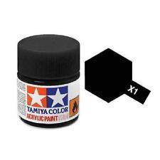 Tamiya Mini X-1 Gloss Black 10ml Acrylic Paint