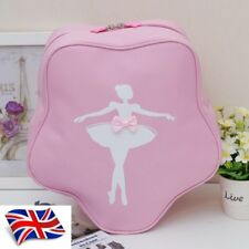 UK SELLER Wow Lovely Girls Kids Pink Star BALLET DANCING bag Backpack Star shape