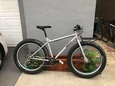 Surly Pugsley Pug Ops Grey Medium Chris King Headset Fat Tire Bike