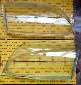 NOS BOSCH Headlight Glass SET R+L fits for FORD Galaxy 1