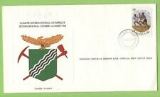 Olympics Zambian Stamps (1964-Now)