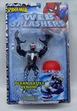 Amazing Spider-Man Web Splashers Ocean Battle Venom ToyBiz 6 inch NIP 4+ S117-4
