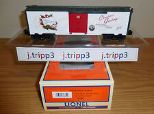 LIONEL 6-36881 CHRISTMAS SONGS 2008 MUSIC BOXCAR O GAUGE TRAIN HOLIDAY SOUNDS