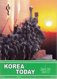 North KOREA TODAY MAGAZINE January 2011 rare New Year Edition DPRK propaganda