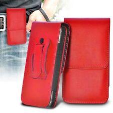 Carcasas, estuches y fundas fundas con tapa roja para reproductores MP3