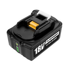 18V 6.0Ah Lithium-Ion Battery For Makita BL1830 BL1860 LXT400 BL1850 Compact
