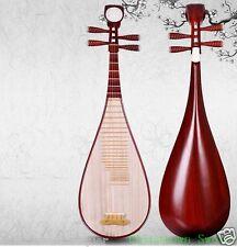 Liuqin - Chinese Soprano Pipa Lute Guitar Handmade Musical Instrument #4136