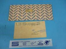 Badge 1.3 Super S Originale per Nissan Micra K11 90896 4F100 Sivar