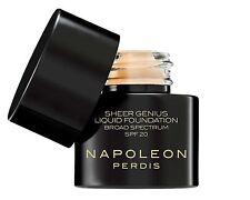 NAPOLEON PERDIS SHEER GENIUS LIQUID FOUNDATION LOOK 1 LIGHT TONE FULL COVERAGE