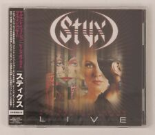 STYX THE GRAND ILLUSION PIECES OF EIGHT Live in Concert Japan 2CD VQCD-10300/1