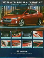 OEM 2017 Hyundai Elantra DEALER ACCESSORY KIT (ALL WEATHER MATS, CARGO TRAY)