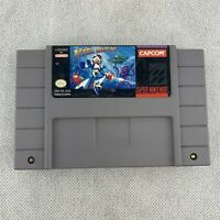 Mega Man X (SNES, 1994) authentic game only. Capcom