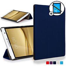 Navy Blue Smart Case Huawei MediaPad T2 7.0 Pro / M2 7.0 Free Scrn Prot Stylus