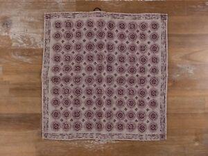 BRUNELLO CUCINELLI beige 100% wool pocket square authentic