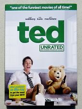 DVD MOVIE TED UNRATED INCLUDES THEATRICAL VERSION 2012 MARK WAHLBERG