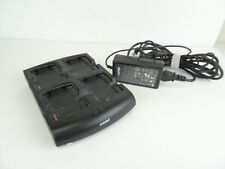 Symbol Sacx000-4000C 4Slot Mc Series Battery Charger w/ Hp-O2040D43 Power Supply