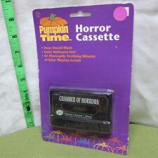 CHAMBER OF HORRORS cassette tape Pumpkin Time terrifying sounds NWT music