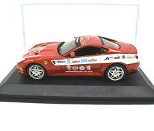 Miniature voiture Racing Ferrari 599 Gtb Échelle 1/43 diecast IXO Modèle Static