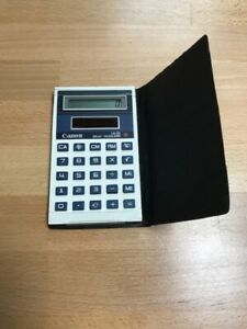 Canon LS-31 Solar Calculator With Case Very Good