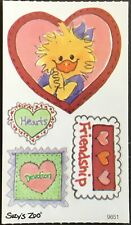 Suzy's Zoo Adorable Vintage Stickers Mint Condition!!
