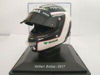 1/5 CASCO VALTTERI BOTTAS 2017 HELMET COLECCION F1 FORMULA 1 A ESCALA