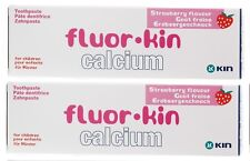 2x Kin Fluor Calcium Tootpaste 75ml