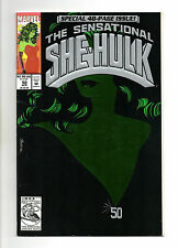 Sensational She-Hulk No 50 Apr 1993 (NM-)Marvel, 48 Pages, Green Foil Card Cover