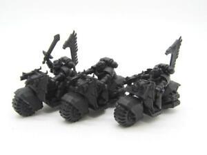 (7229) Ravenwing Bike Squadron Dark Angels Adeptus Astartes 40k 30k Warhammer