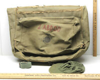 Vintage WW2 USMC Uniform Suit Luggage Bag Military Issued Garment Travel Case