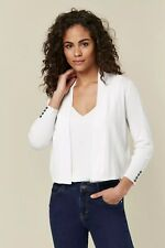 Wallis Womens Ivory Crop Shrug Cardigan Knitwear Casual Everyday