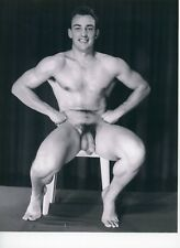 Vintage Physique Reproduction Male Nude Gay Interest Photo Art New