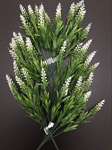6x Astilbe Bunches Joblot Plastic Flowers Filler Greenery Herb Garden Plant Posy