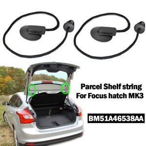 For FORD FOCUS Mk3 12-18 PARCEL SHELF LOAD LUGGAGE COVER BLIND Strap String Clip