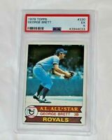 1979 Topps George Brett #330 HOF PSA 5  Kansas City Royals Baseball Card