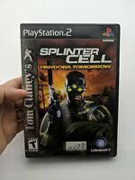 Tom Clancy's Splinter Cell: Pandora Tomorrow - Playstation 2 Game Complete