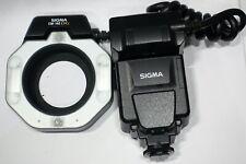 Sigma EM-140 DG Macro ring flash E-TTL II,  fits Canon DSLR camera/lens 58mm