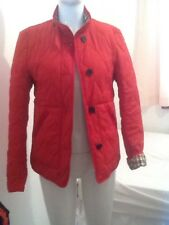 Aquascutum Ladies Red Padded Jacket  -size Small .(,RRP £295.)