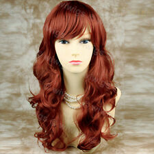 Wiwigs Stunning Fox Red Long Wavy Skin Top Ladies Wig